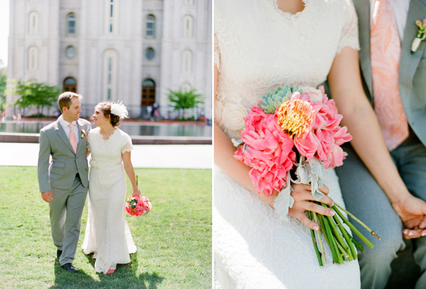 Wedding Blog Salt Lake City Temple Wedding