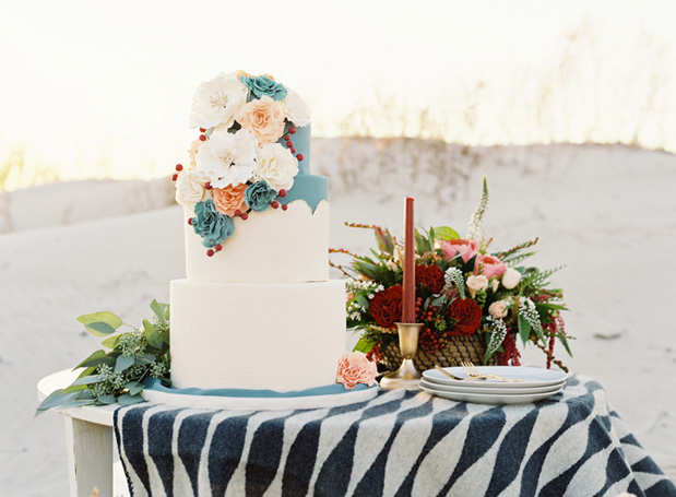 Wedding Blog Moroccan Inpsired Fall Cakes