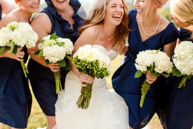 Virginia Fall Wedding in Navy | Best Wedding Blog