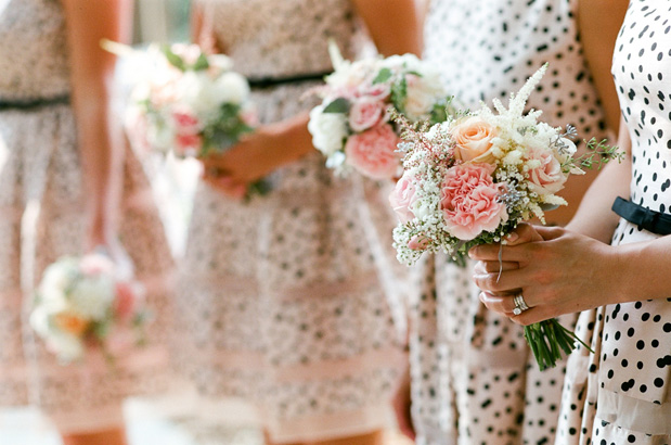 Wedding Blog Polka Dot Bridesmaids