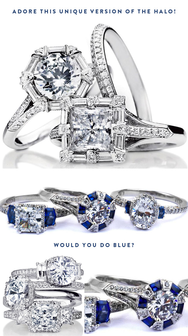 Wedding Blog Unique Rings from JR Dunn