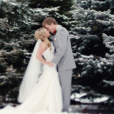 Holiday Winter Wedding