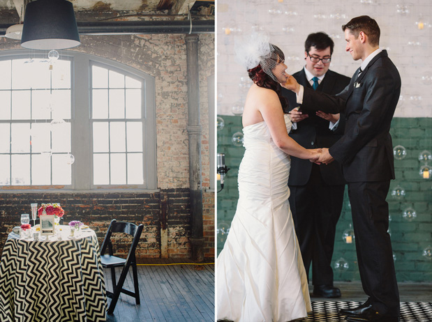 Ann arbor loft wedding