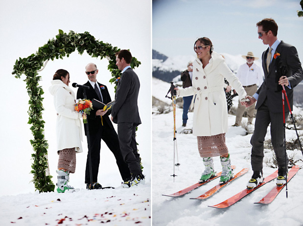 Wedding Blog Wedding on the Slopes