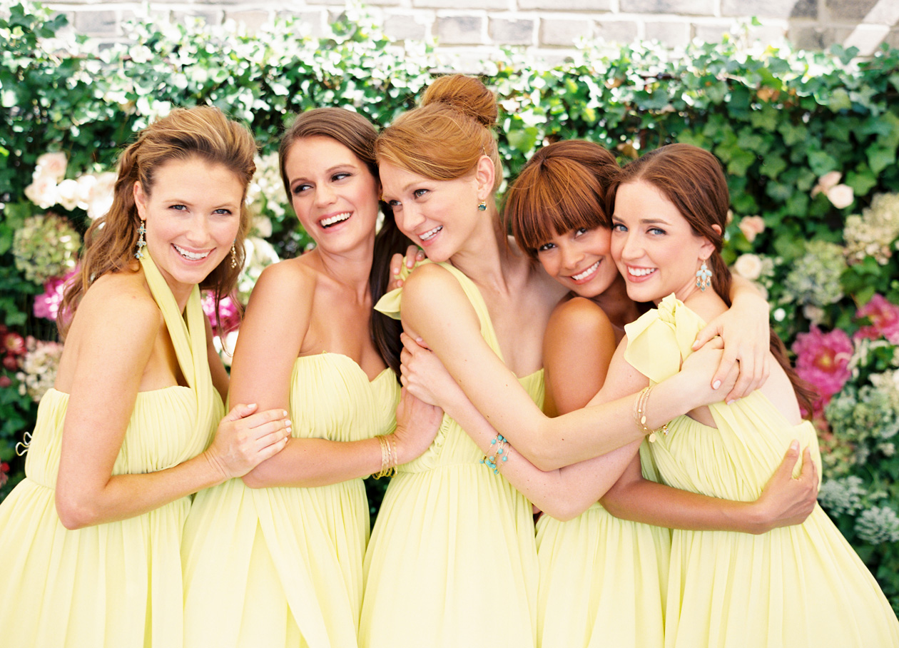 Wedding Blog Donna Morgan Bridesmaids