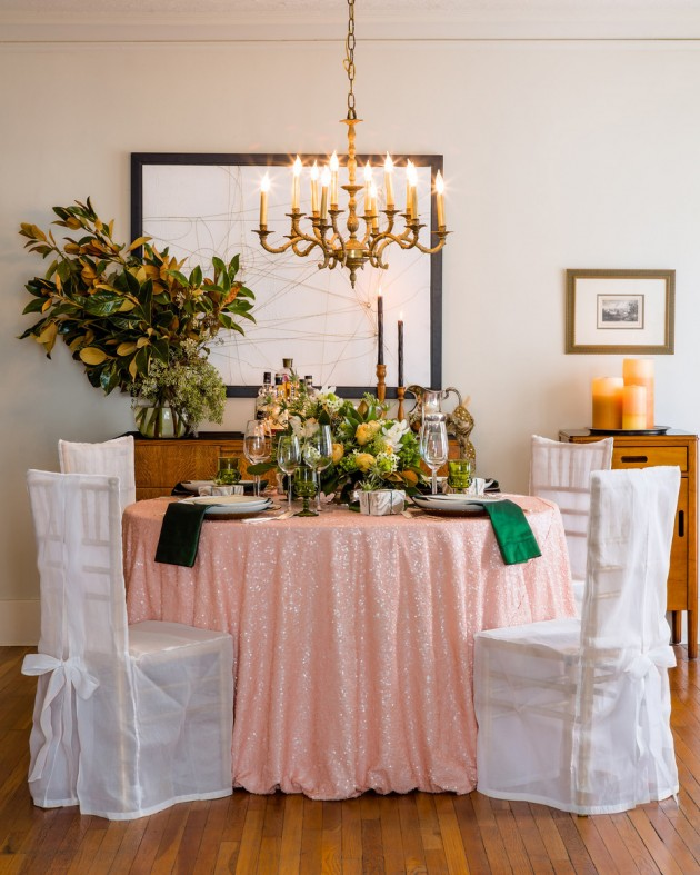 Wedding Blog Dinner Party with the Color of the Year