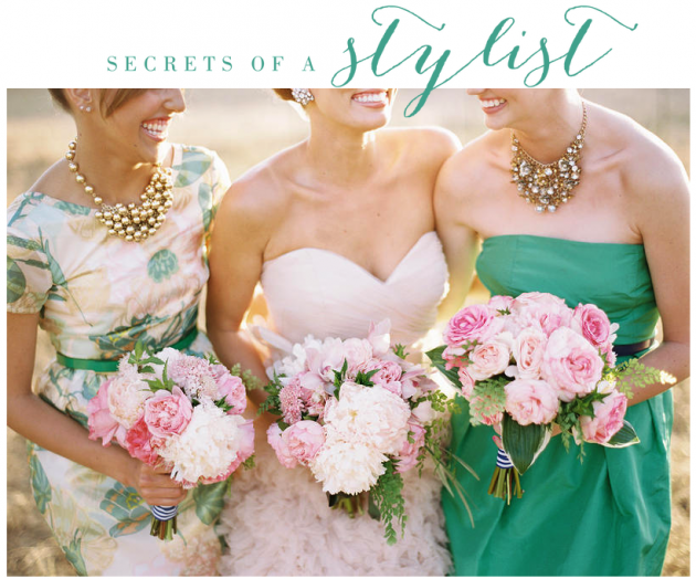 Wedding Blog Secrets of a Stylist
