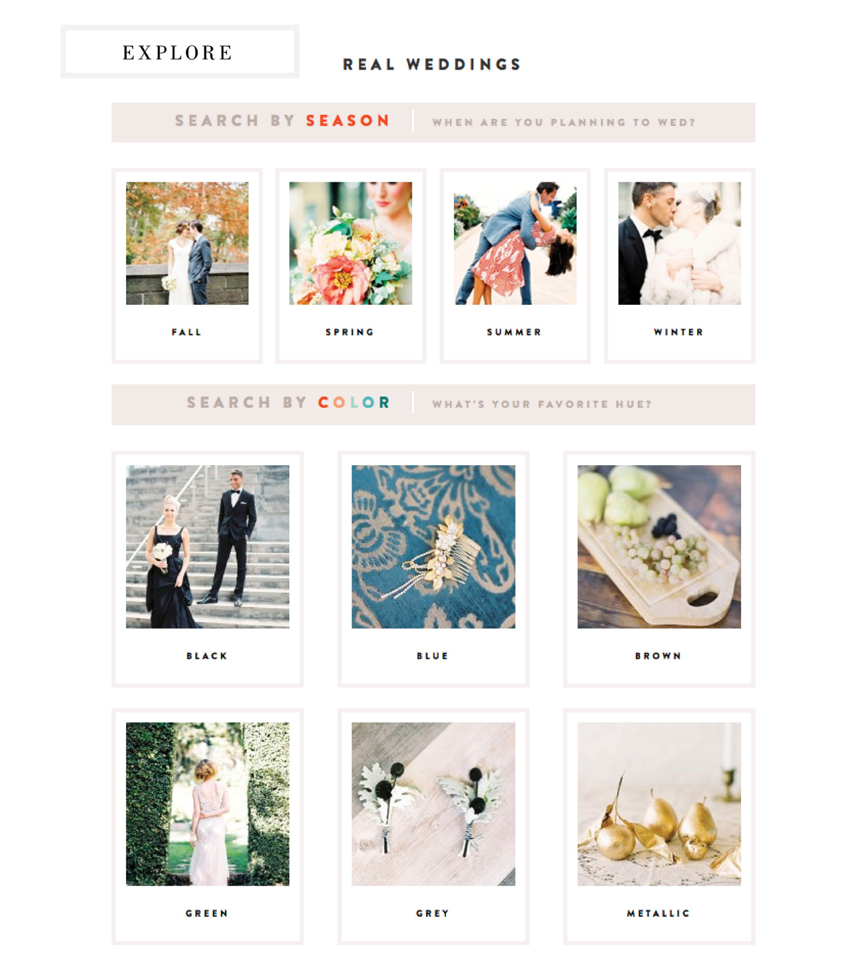 Wedding Blog PLEASED TO MEET YOU!