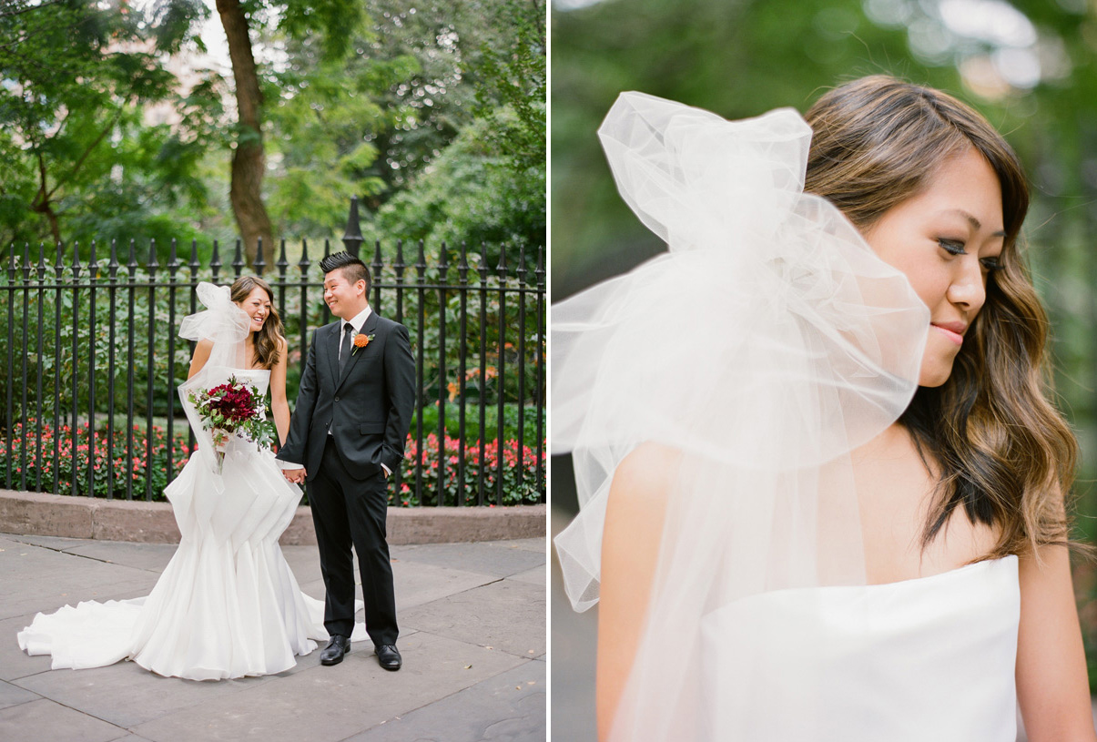 Wedding Blog Modern New York Wedding