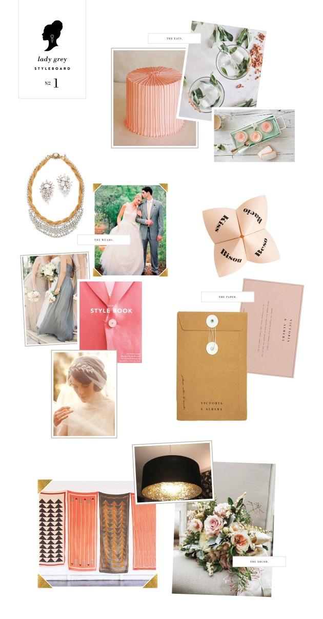 Wedding Blog Lady Marys Styleboard