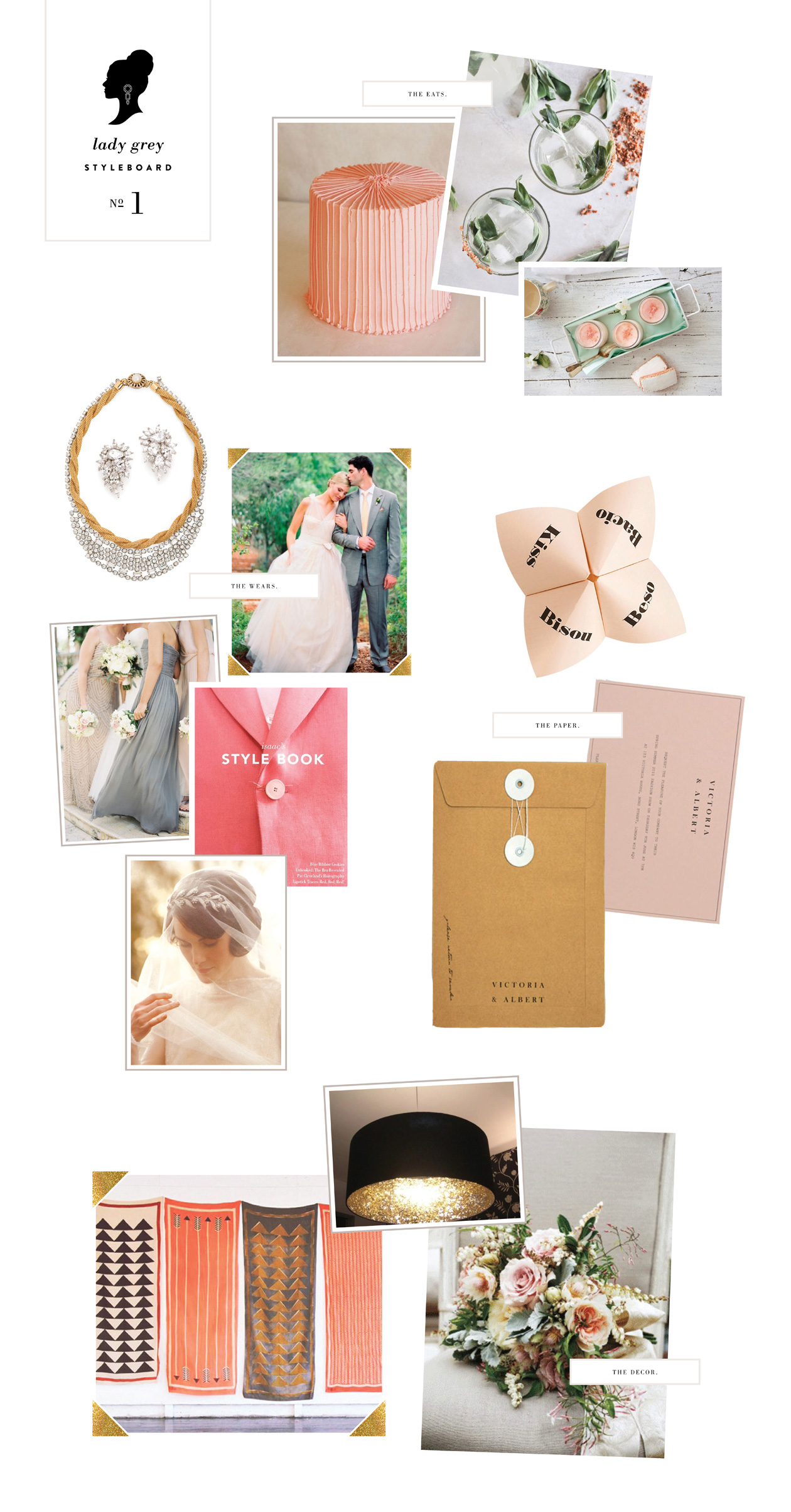 Wedding Blog Lady Marys Styleboard