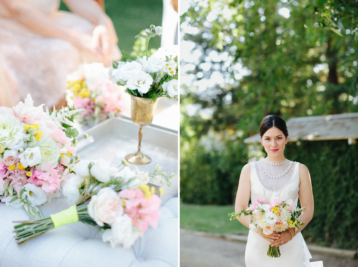 Wedding Blog Blush and Neon