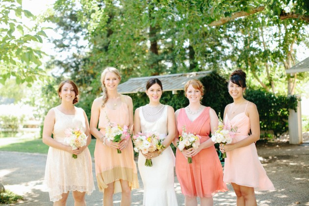 Wedding Blog Blush and Neon