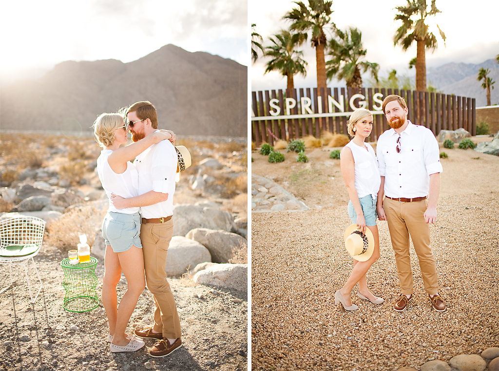 Wedding Blog Palm Springs Love Shoot