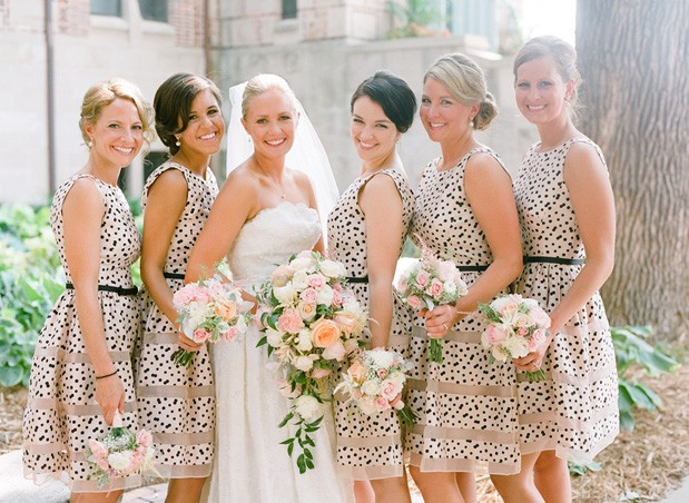 Wedding Blog Our Four Favorite Bridal Parties