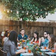Springtime Bohemian Dinner Party
