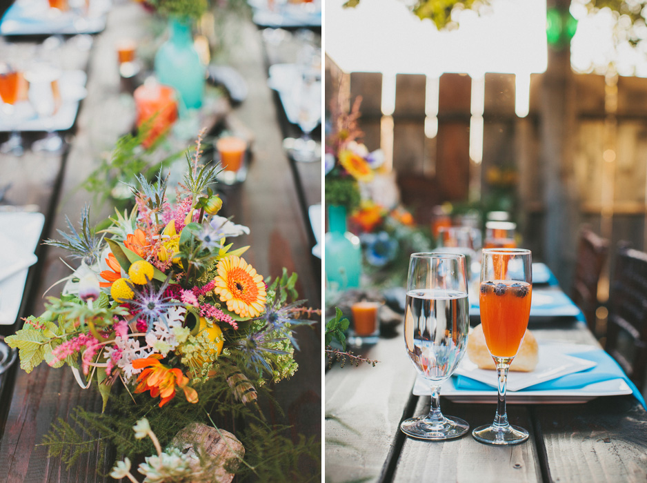 Wedding Blog Springtime Bohemian Dinner Party