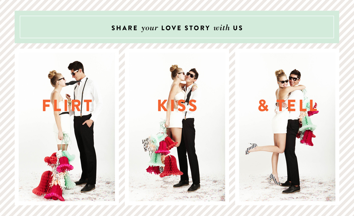 Wedding Blog Flirt, Kiss, & Tell