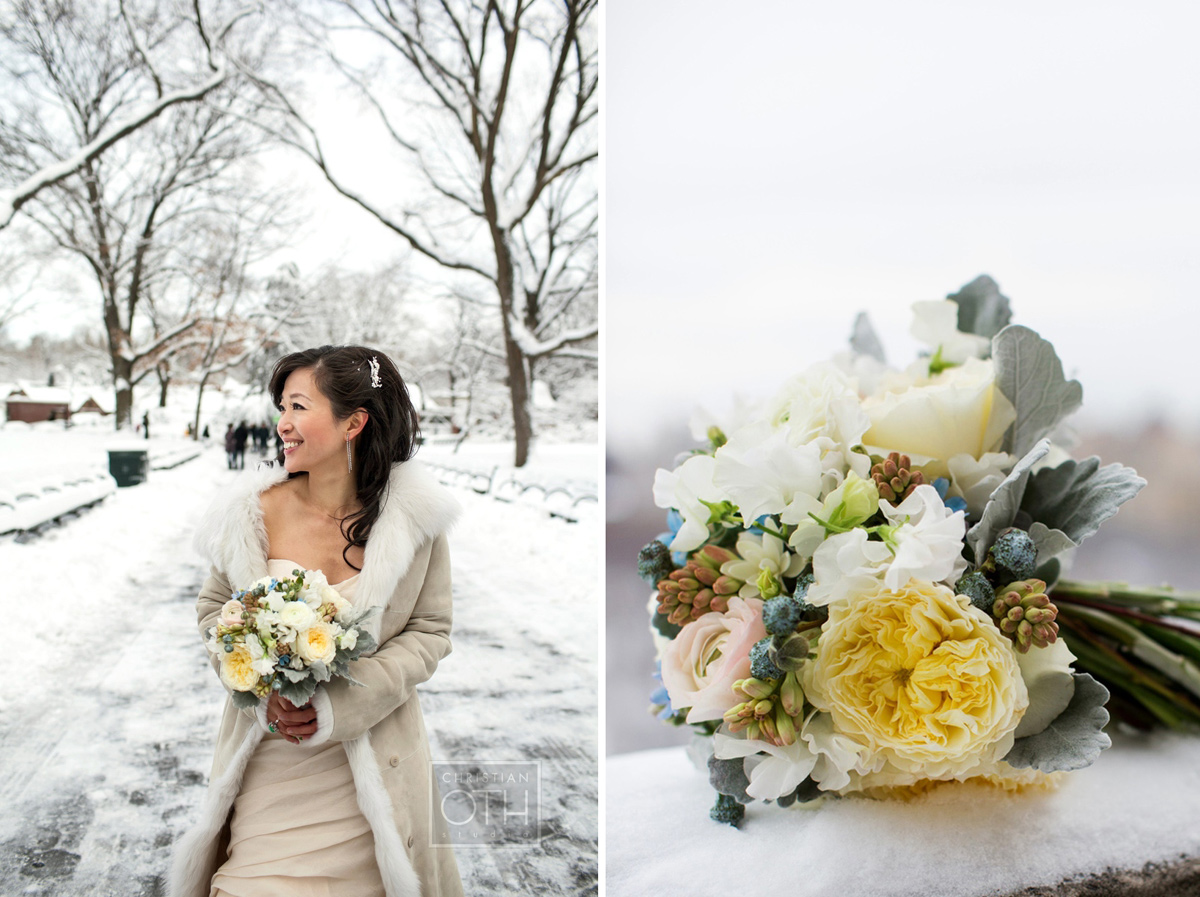 Buffalo ny winter wedding