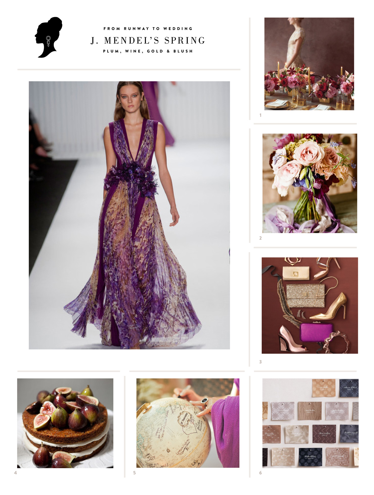 Wedding Blog J. MENDEL SPRING FASHION