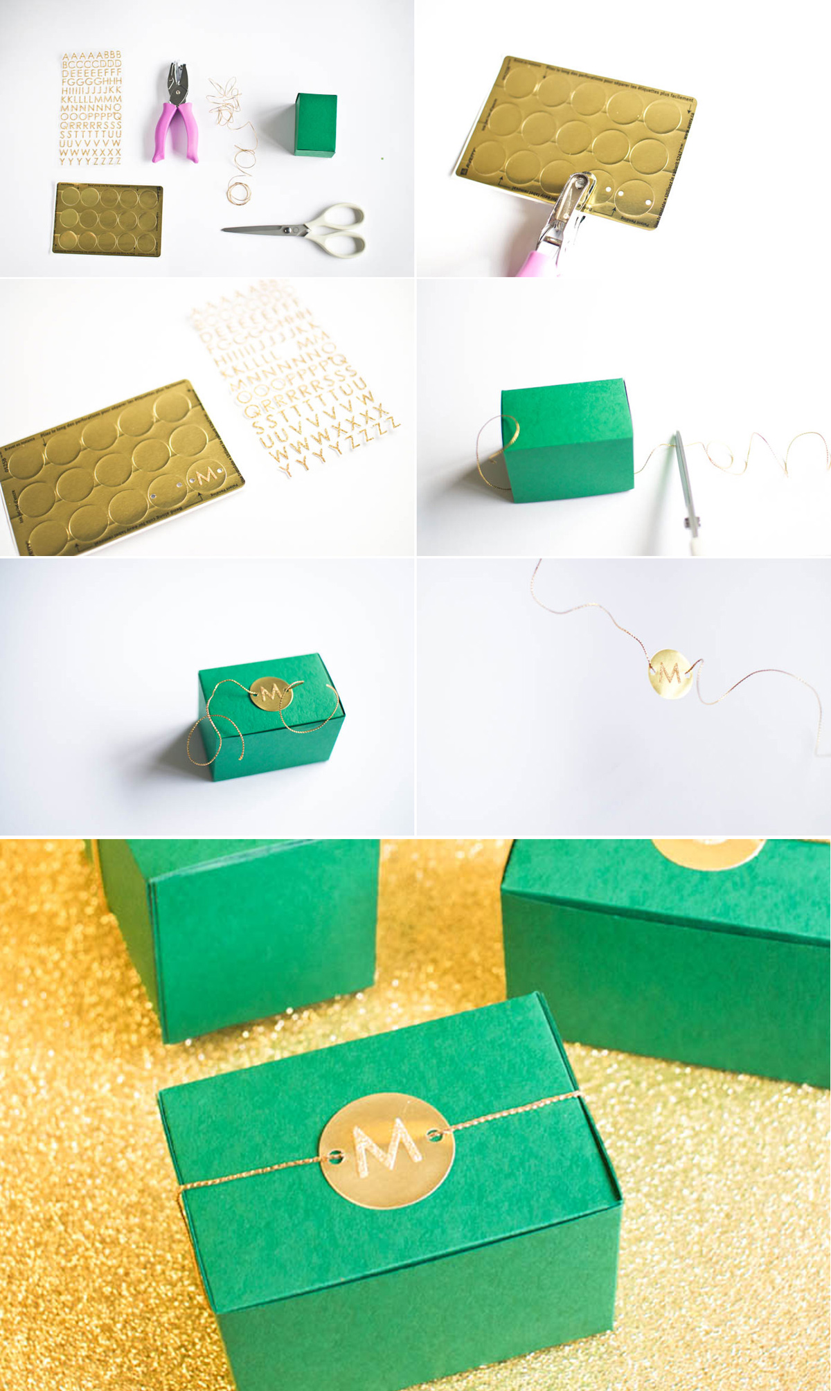 emerald_gold_diy_wedding_favor_3