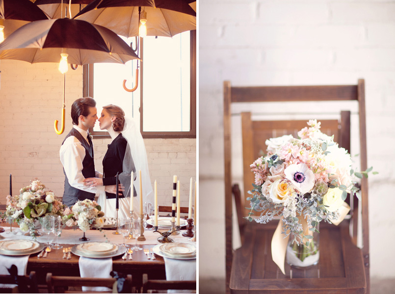 Wedding Blog Modern Industrial Romance