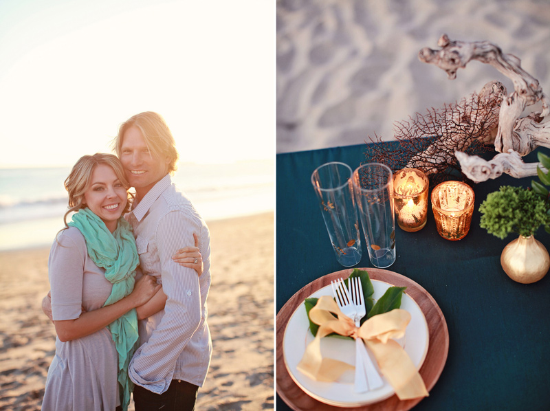 pantone_emerald_gold_beach_wedding_shoot_11
