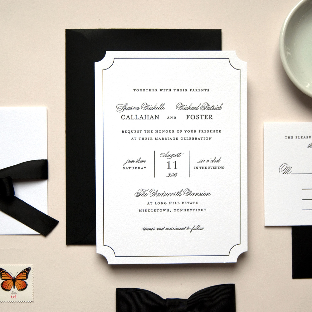 Wedding Blog Kimberly Fitzsimons Stationery Giveaway