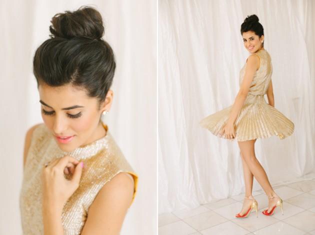 brunch_elopement_shoot_gold_sequins_waffle_wedding_cake_6