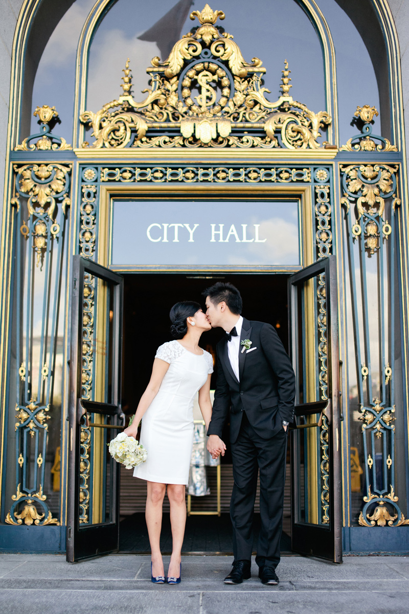 Connie lyu photography best wedding blog for City hall wedding ideas