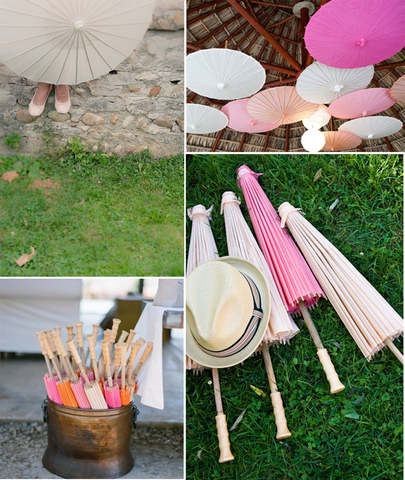 Wedding Blog Luna Bazaar Parasols!