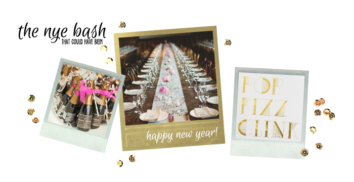 New Years Wedding Inspiration Board