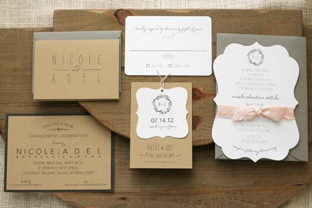 Wedding Blog Foglio Press Stationery
