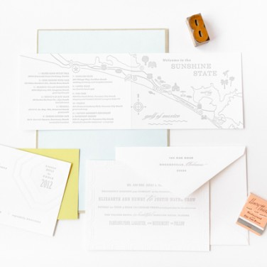 Destination Wedding Paper Suite