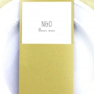 Menu Card Giveaway