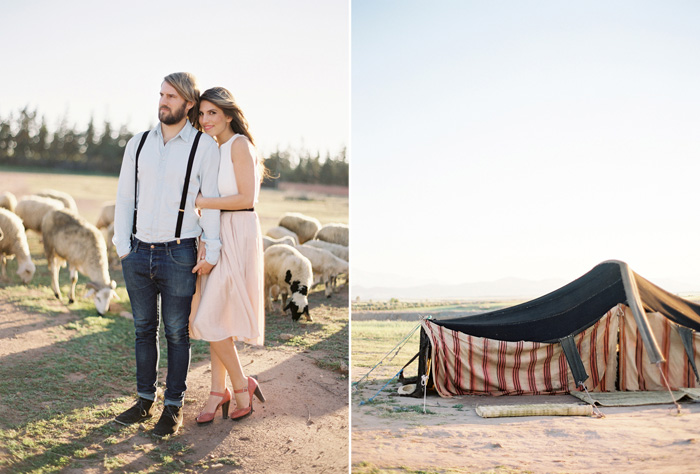 Wedding Blog Alice and Sams Morocco Engagement by Jose Villa