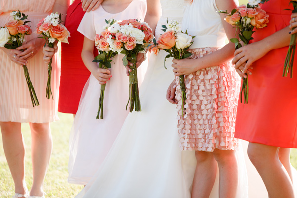 Wedding Blog Coral and Blush Ranch Wedding