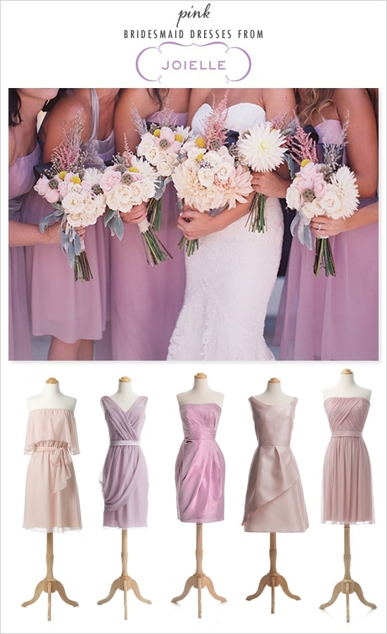 purple dress line up - great!