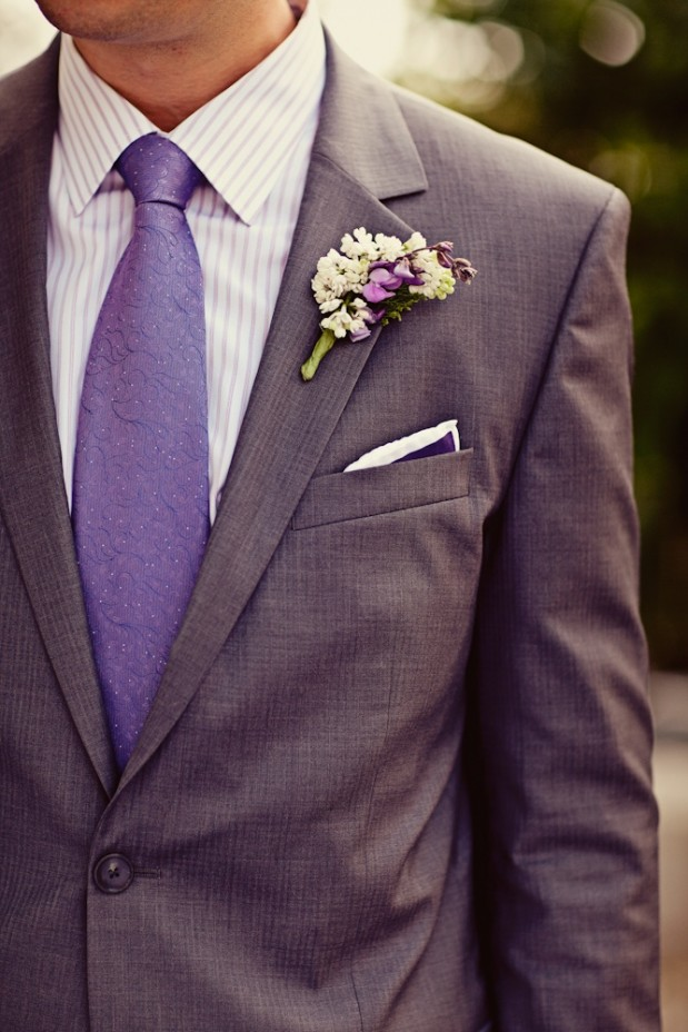 purple groom