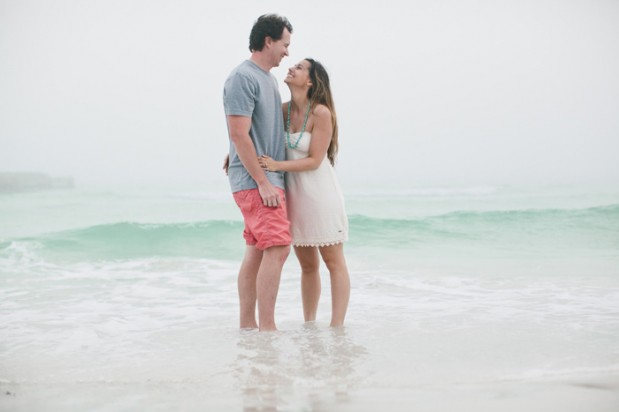 Wedding Blog Marine Biologists Beachside Engagement