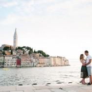 Katie and Alex in Croatia