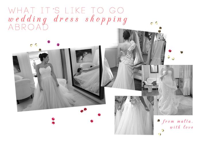 wedding dress shopping abroad