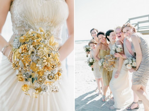 Beach-&-Bar-Wedding-by-Kelly-Sauer-gold_brooch_bouquet_1.jpg6