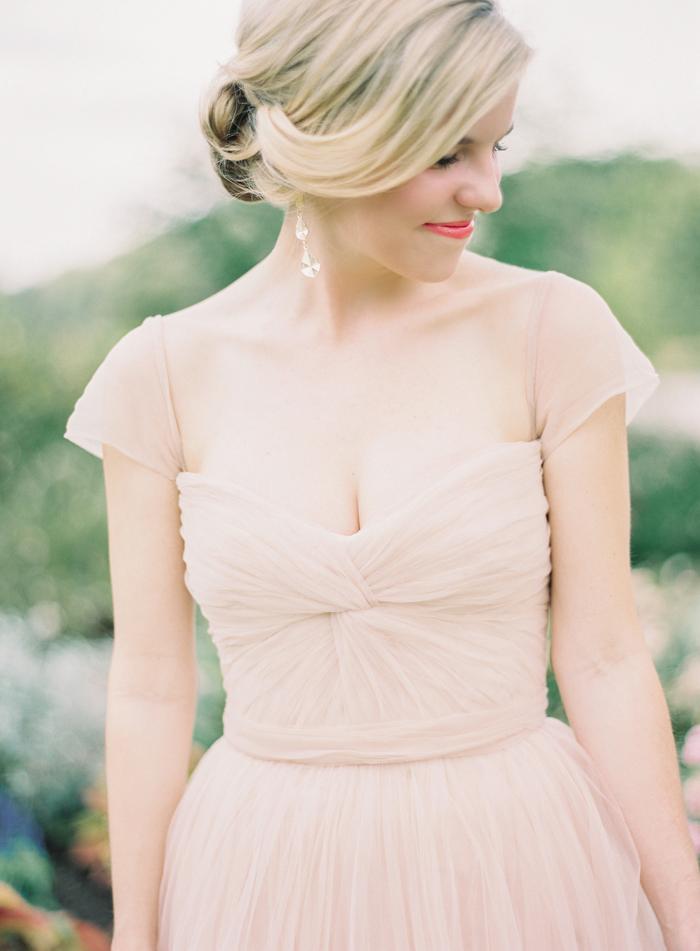 Blush Wedding Dress Reem Acra : Jacob blush reem acra wedding dress best