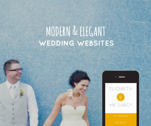 Wedding Blog Modern Wedding Websites by Sitting in a Tree