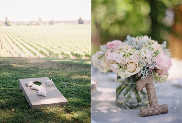 Wedding Blog Rustic Elegant Wedding at Healdsburg Country Gardens