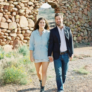 Desert & Glam Engagement