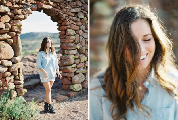 Wedding Blog Desert & Glam Engagement
