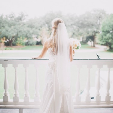 Yellow Charleston Wedding at Lowndes Grove Plantation