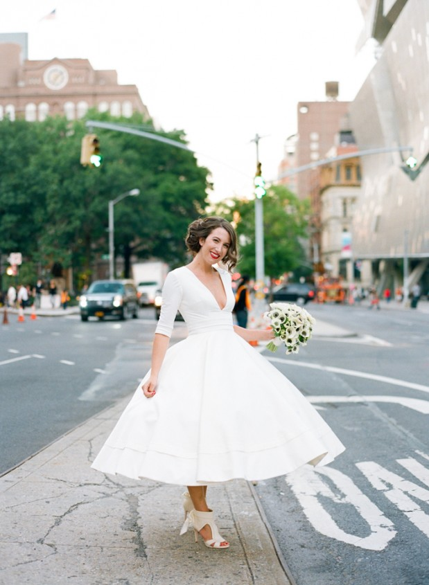 Wedding Blog Destination to New York: A City Loft Wedding